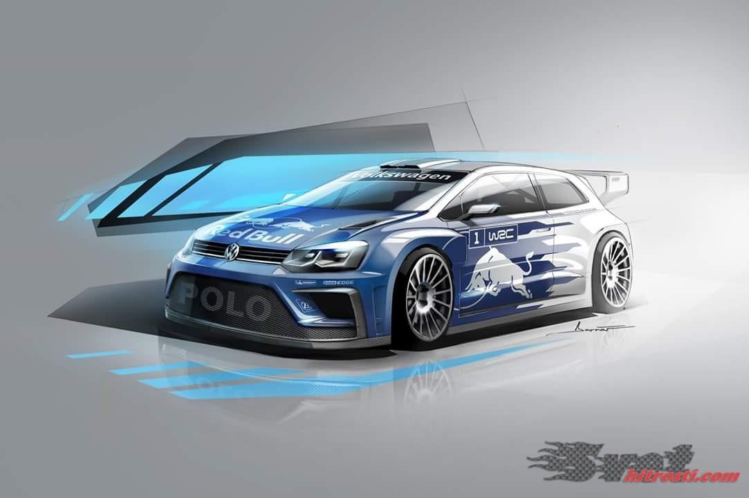 Prva slika VW Polo R 2017 WRC