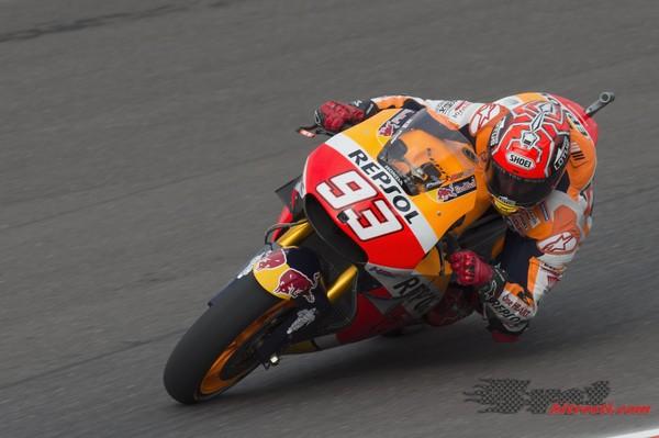 Marquez dobil prvi dan testiranj v Jerezu