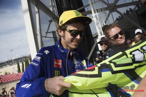 Rossi: V Teksasu nisem imel sreče