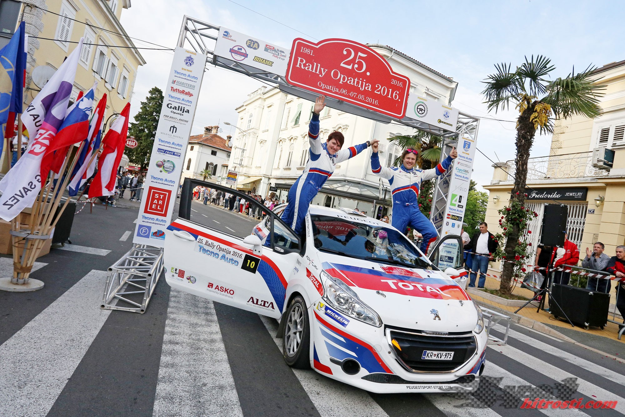 Jubilejna 25. zmaga z dirkalnikom Peugeot 208