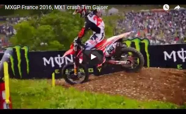 VIDEO: Grd padec Tima Gajserja na kvalifikacijah v Franciji
