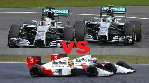 Rosberg in Hamilton kot Senna in Prost?