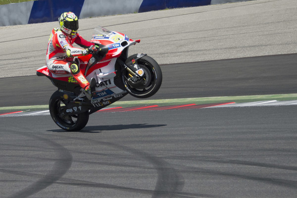Iannone Rossiju speljal najboljši štartni položaj