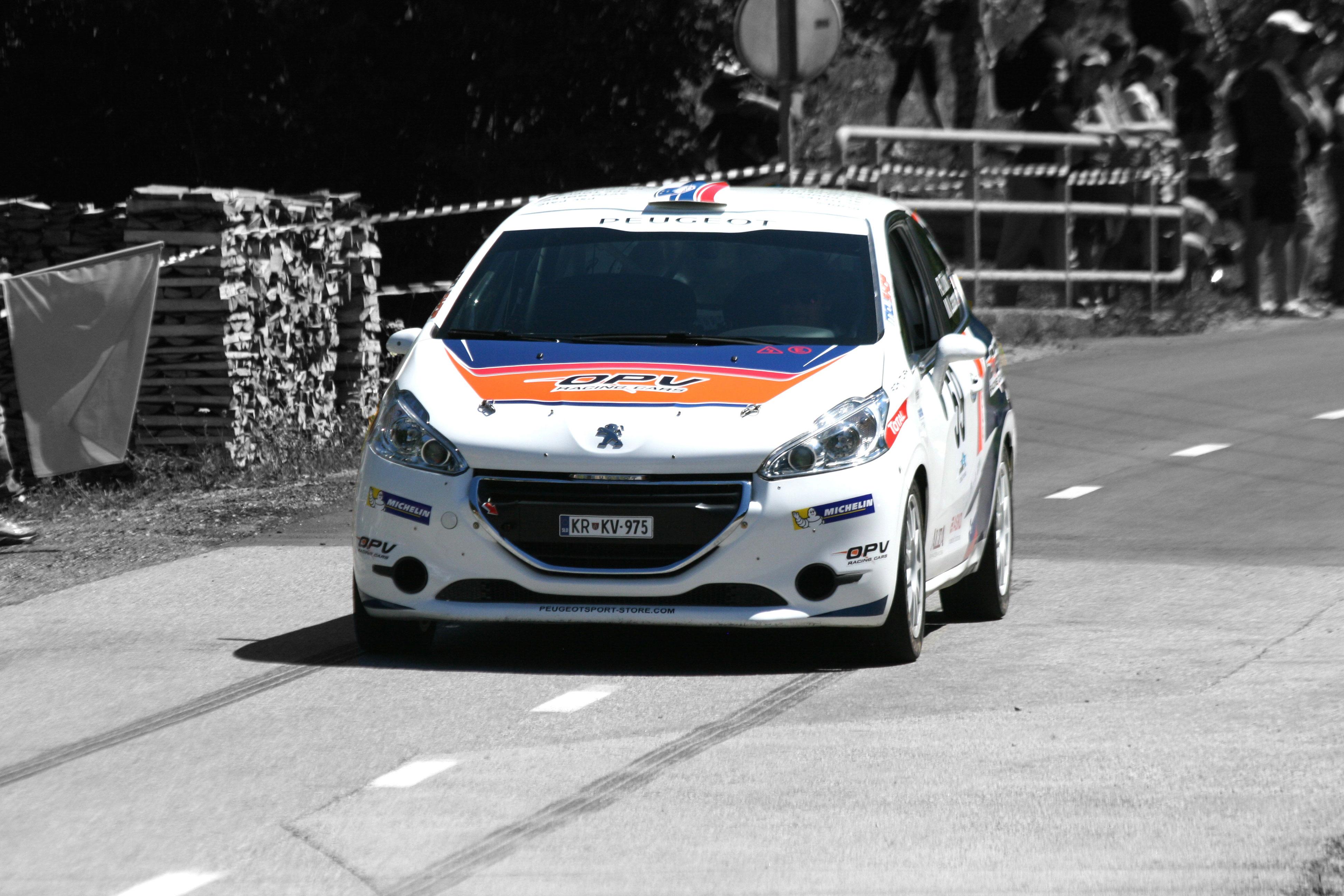 Uspešen nastop Roka Turka na domači dirki OPV Racing Cars v Lučinah