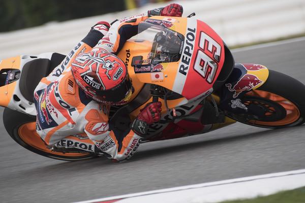 Marquez bo v Motegiju dirkal zadržano