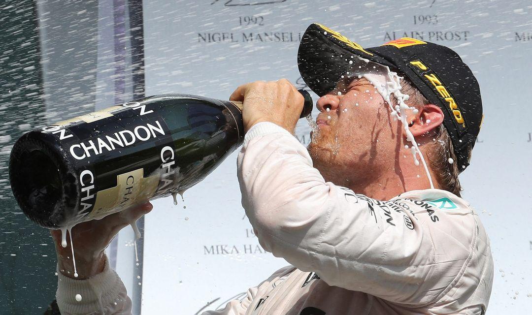 Rosberg zmagovalec dirke za VN Beglije