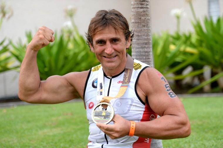 Alex Zanardi na noč 15. obletnice nesreče osvojil četrto zlato medaljo!