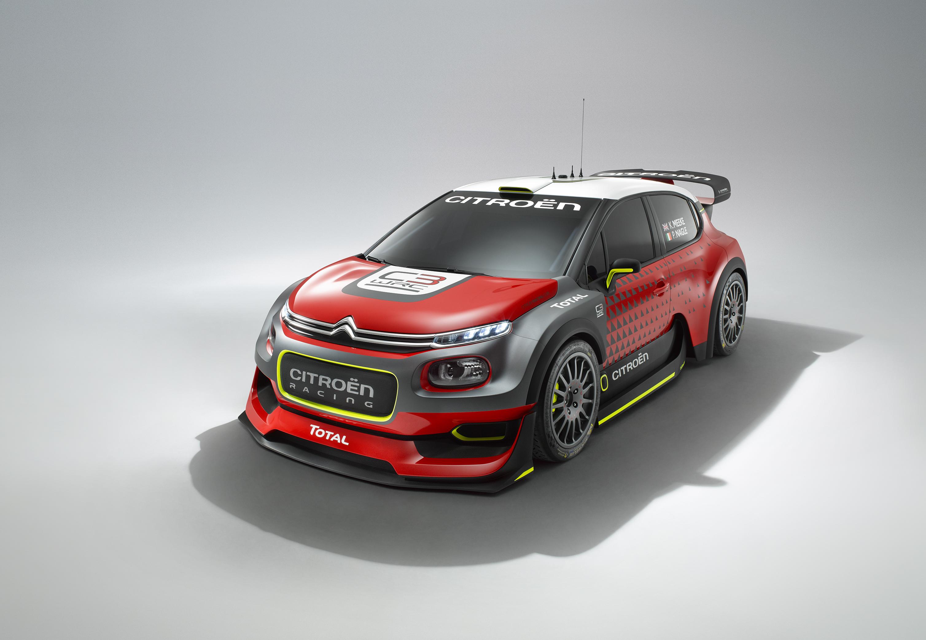 Citroen predstavil koncept C3 WRC za sezono 2017