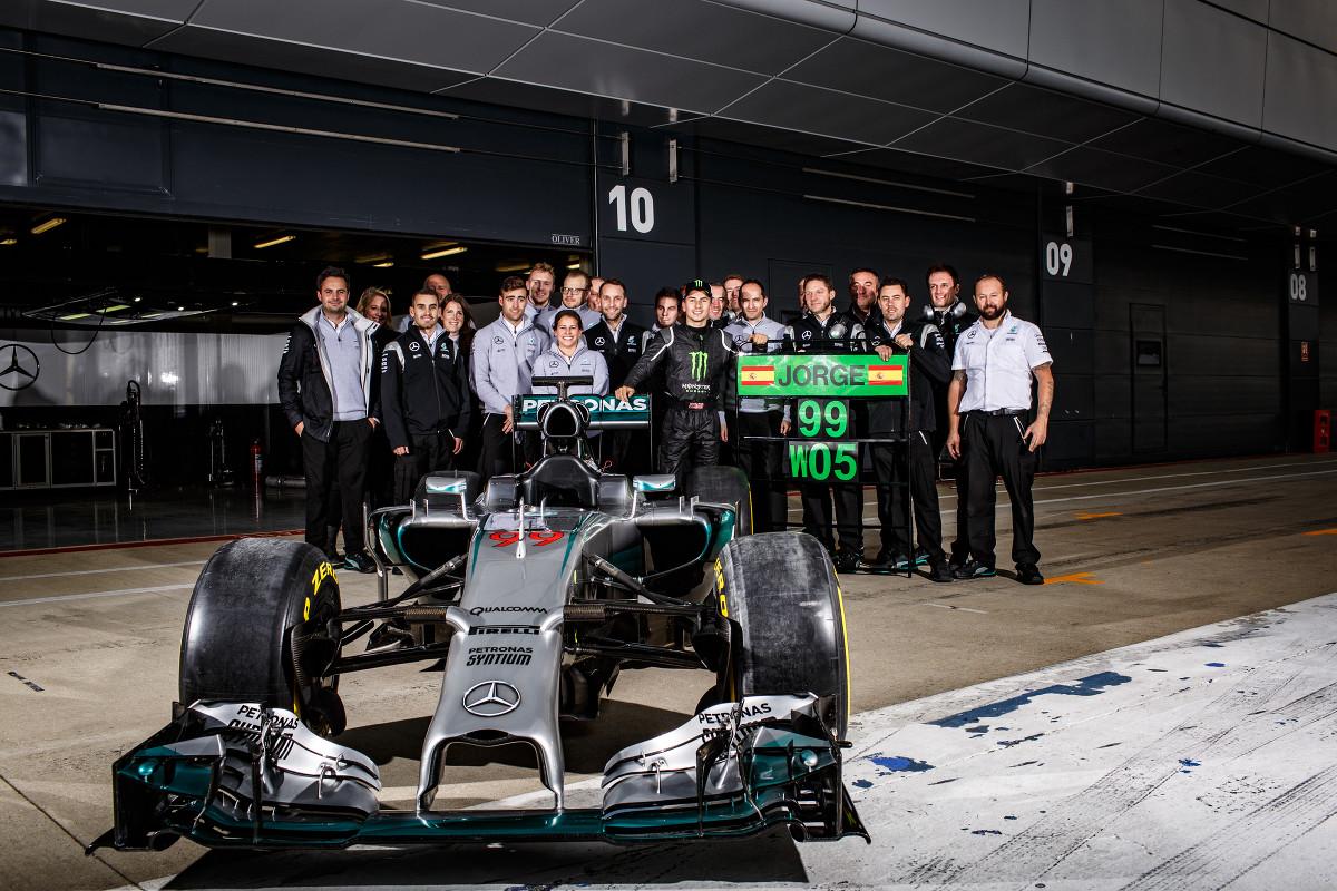 Svetovna prvaka Rossi in Ogier na seznamu želja Mercedesa