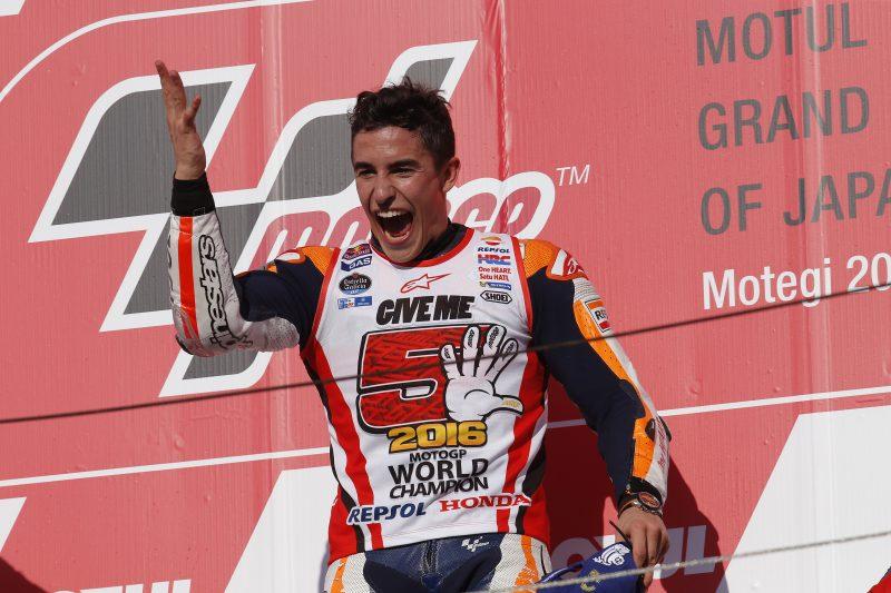 Marquez pravi, da je bil Rossi danes živčen