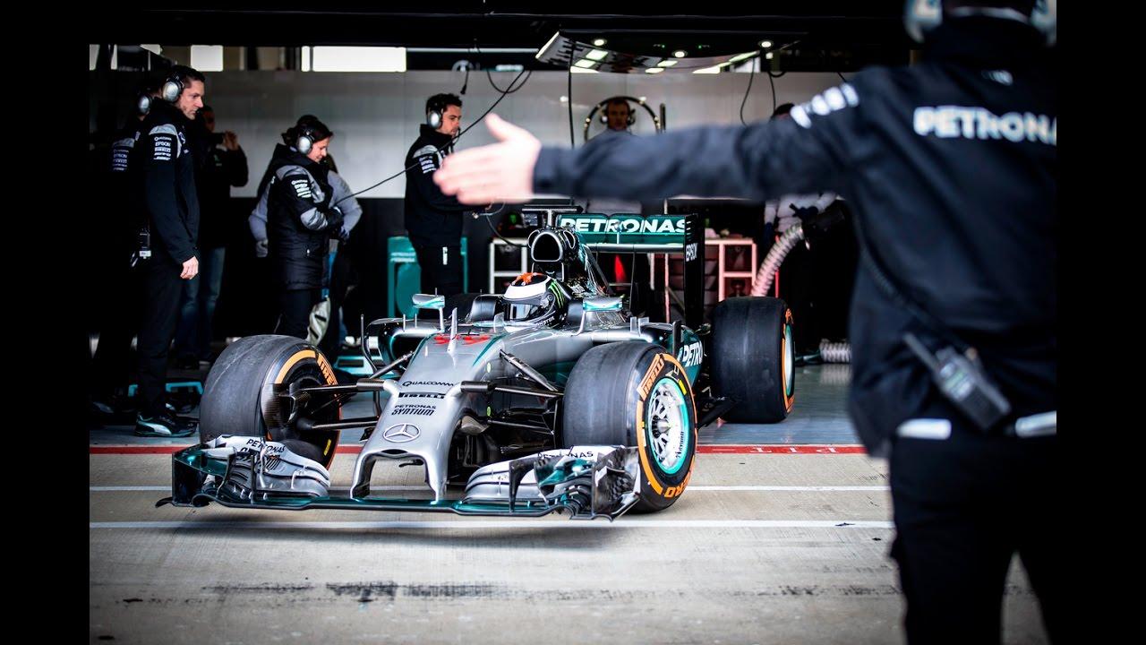 VIDEO: Jorge Lorenzo za volanom dirkalnika F1