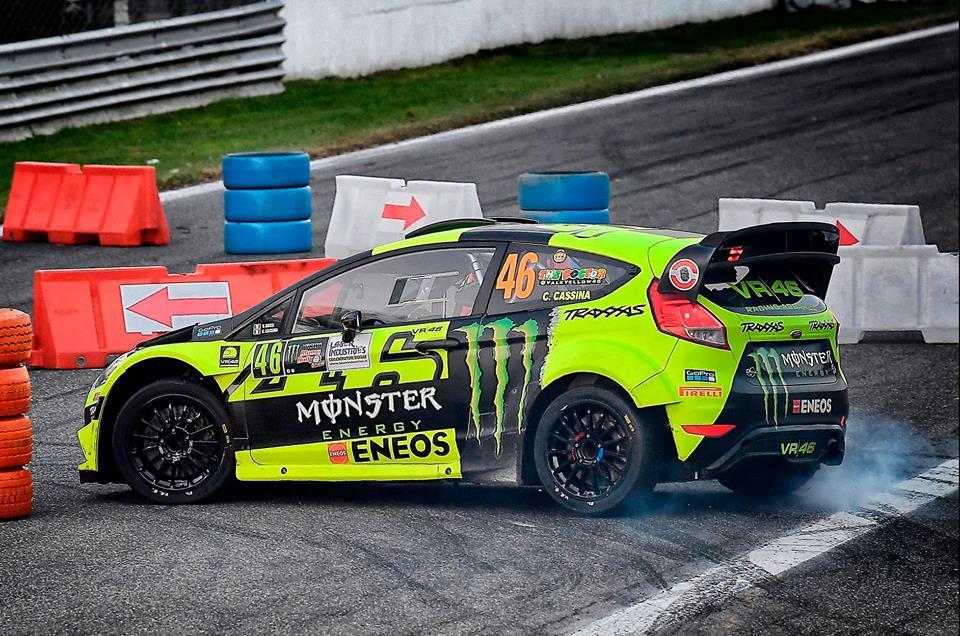 Rossi izenačil rekordno peto zmago na Rally Showu v Monzi