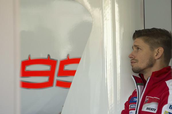 Stoner prvič na letošnjem Ducatiju