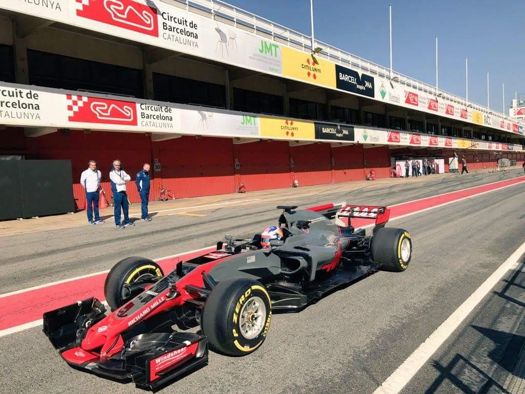 Prva slika novega Haasovega dirkalnika