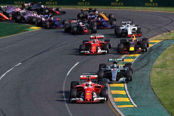Vettel privozil prvo zmago za Ferrari po Singapurju 2015
