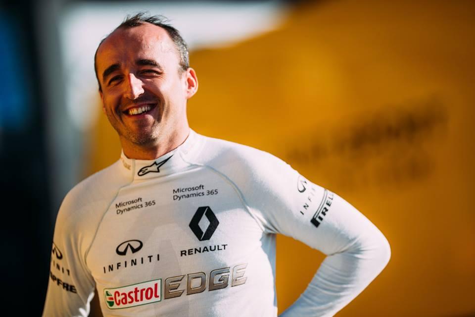Kubica znova v dirkalniku F1: Odpeljal 115 krogov!
