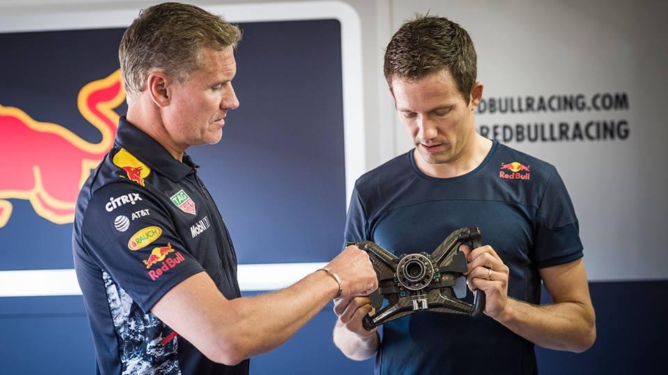 Rally prvak Ogier za volanom dirkalnika F1