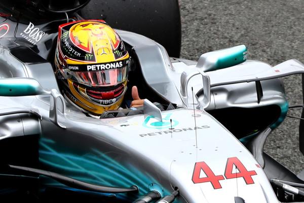Hamilton bo testiral gume za prihodnjo sezono