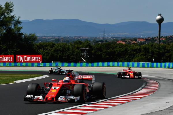 Dvojna zmaga Ferrarija v Budimpešti