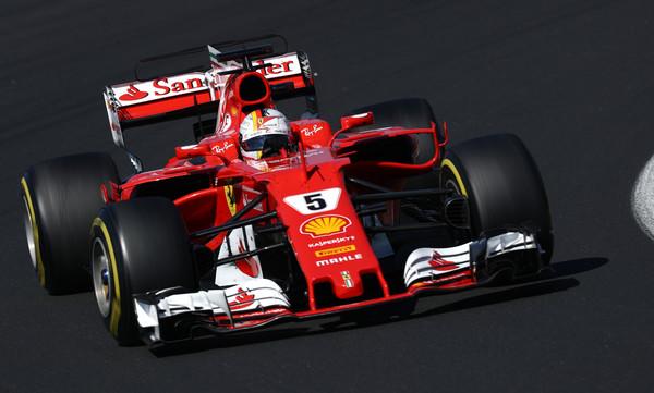 Ferrari z Vettlom ostal najhitrejši tudi drugi dan