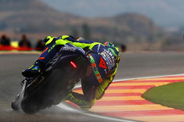 Rossi za odločitev potrebuje suho stezo