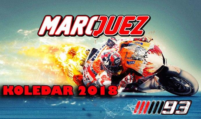 Marc Marquez koledar 2018