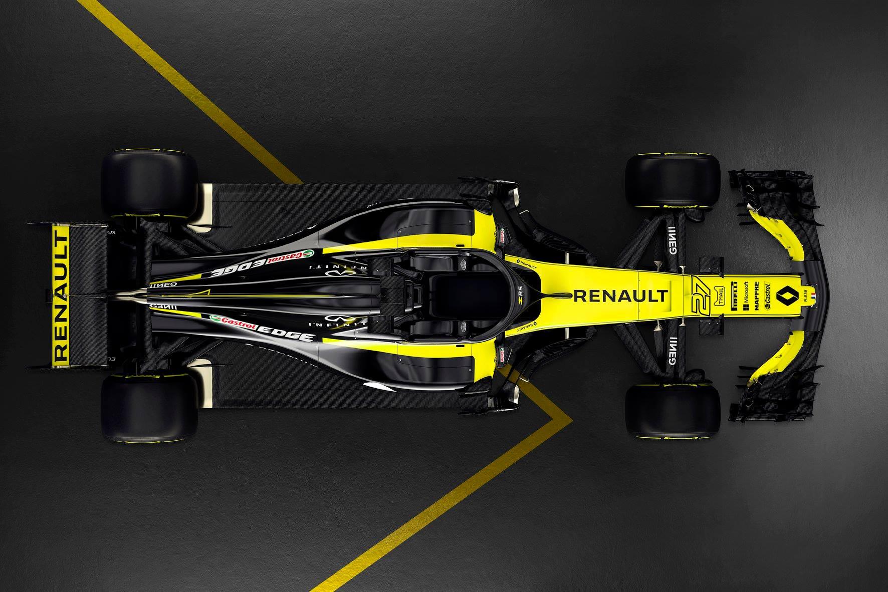 Renault predstavil dirkalnik za sezono 2018