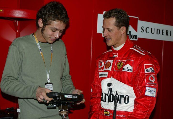 Rossi se s podpisom pogodbe želi izgoniti povratku v stilu Schumacherja
