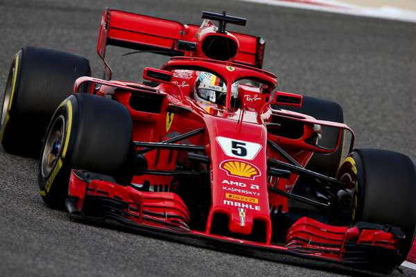 Vettel in Raikkonen iz prve štartne vrste, Hamilton z devetega mesta
