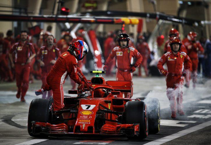 Ferrariju kazen zaradi incidenta v boksih