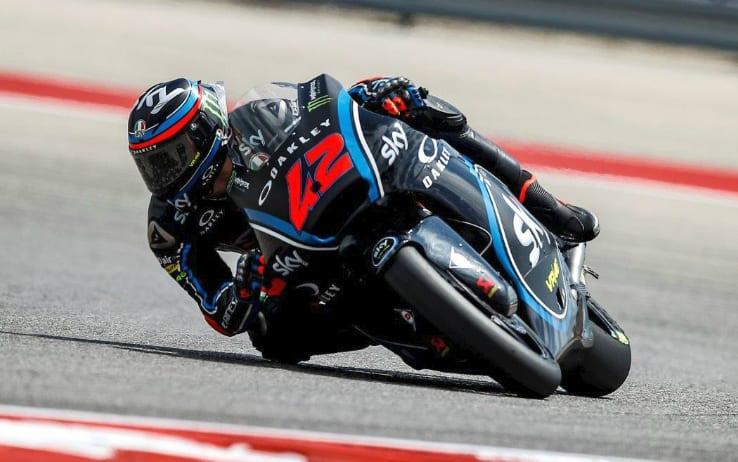 Bagnaia dobil dirko razreda Moto 2