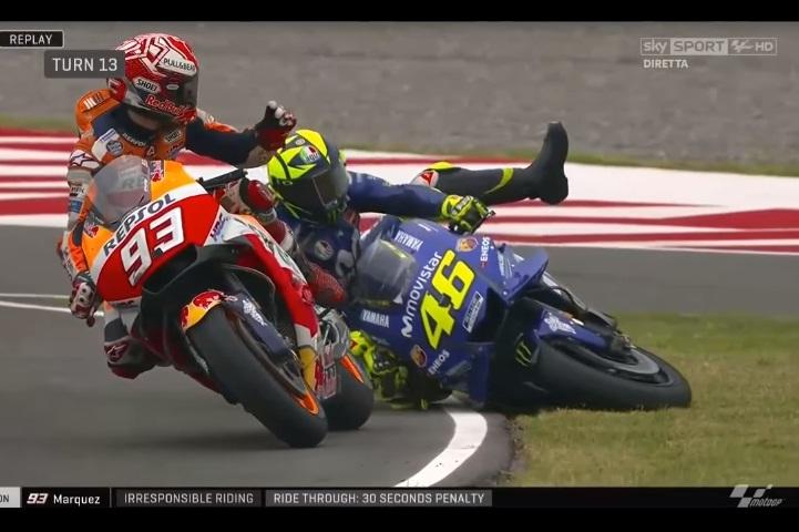 Rossi se zdaj boji voziti blizu Marqueza