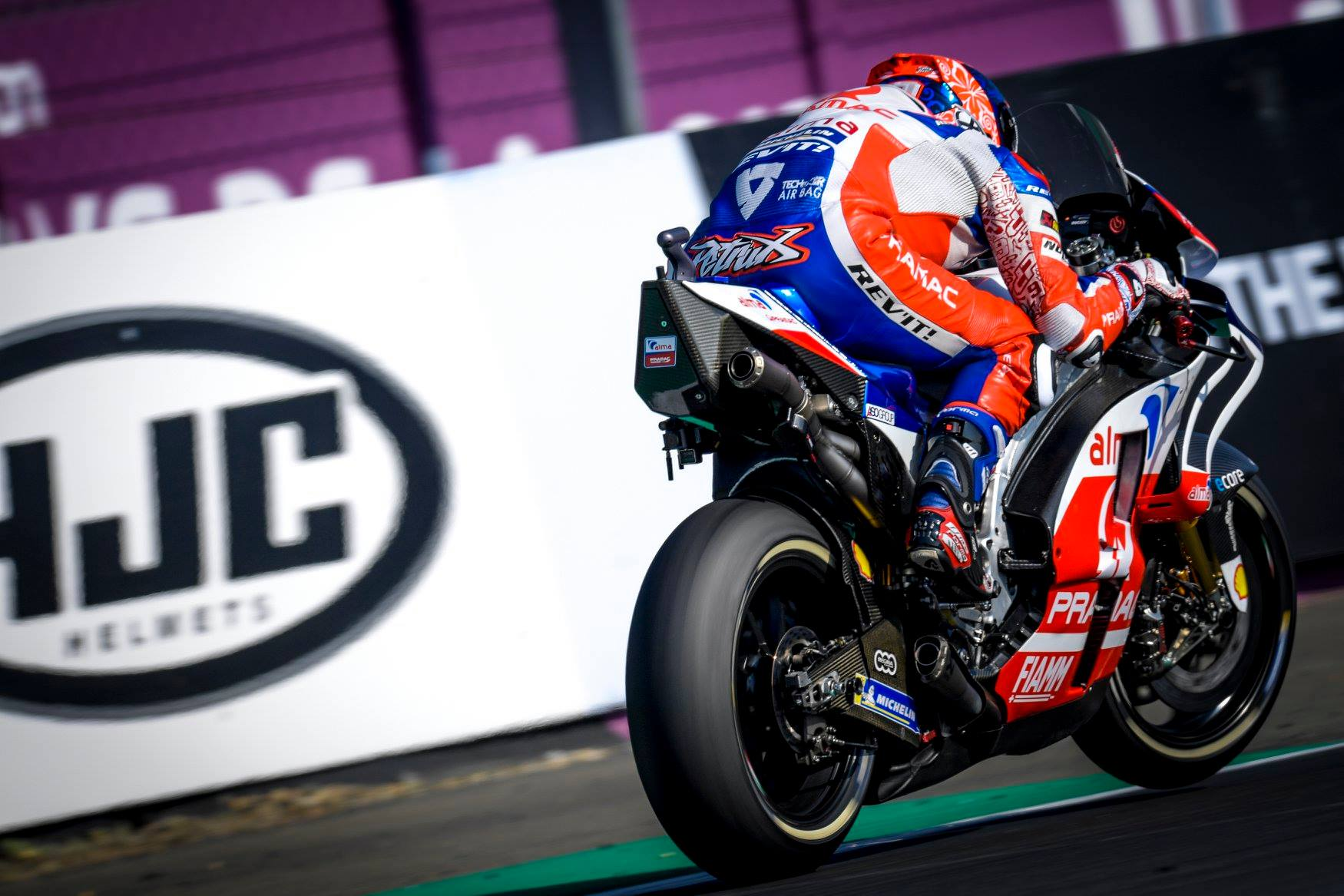Lorenzovi dnevi pri Ducatiju so šteti
