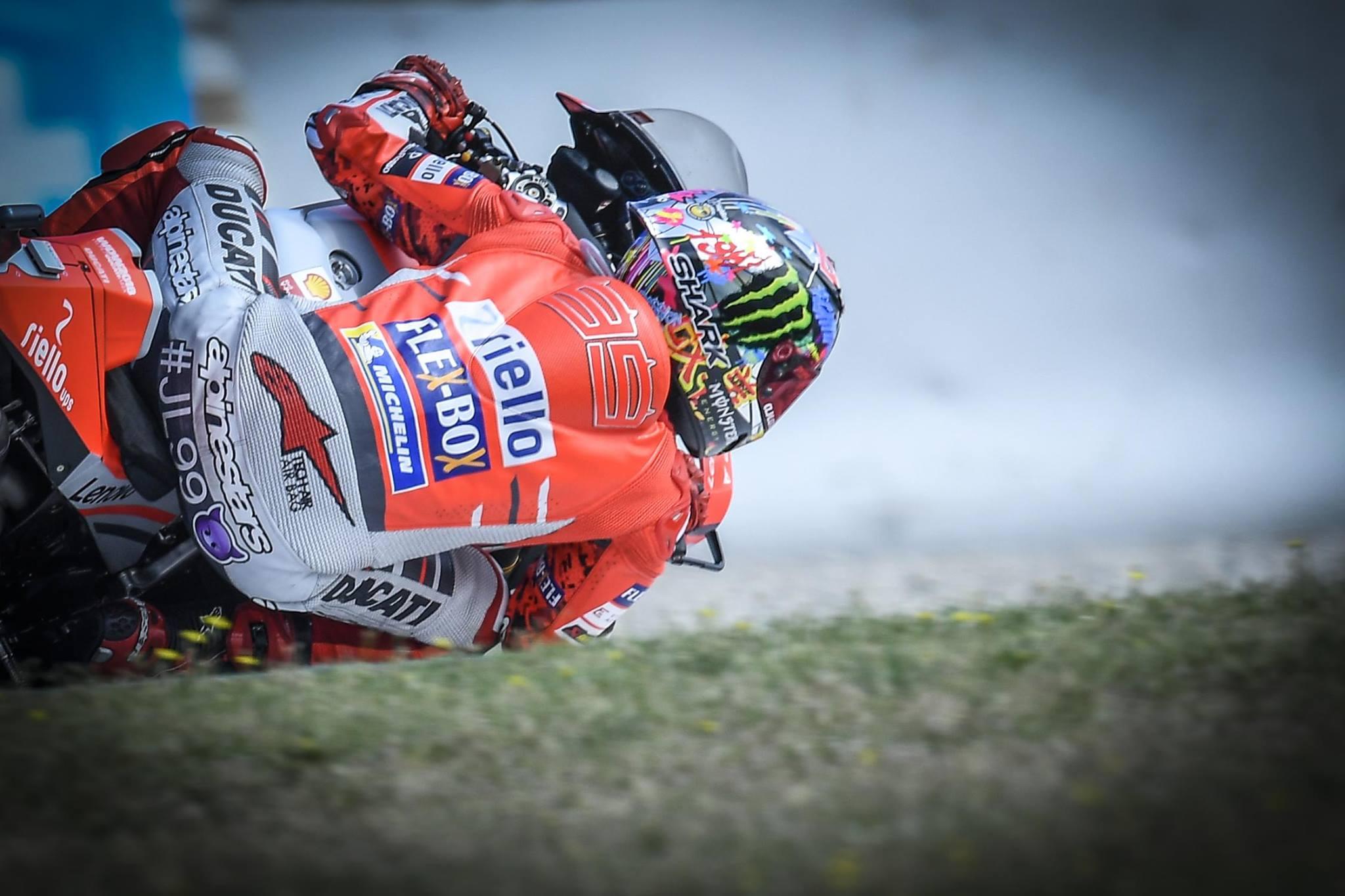 Lorenzo v Barceloni do prvega najboljšega štartnega položaja z Ducatijem