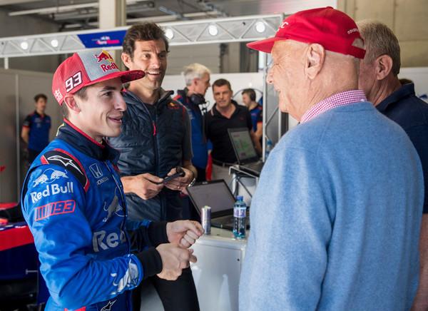 Marquez navdušil v dirkalniku Formule 1