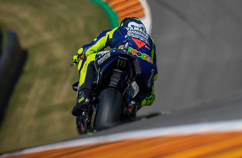 Rossi: Zadnja guma nima oprijema