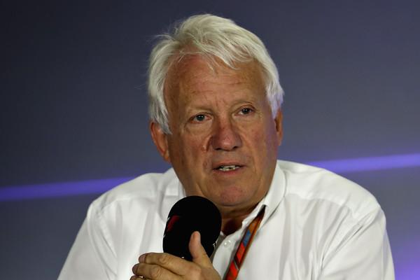 Umrl direktor dirk F1 Charlie Whiting