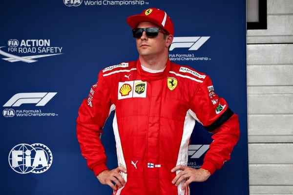 Raikkonen: Zaradi gneče sem ostal brez najboljšega štartnega položaja