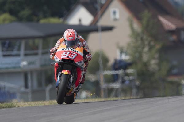 Letošnji Hondin motocikel je na Sachsenringu slabši