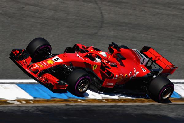 Vettel dobil kvalifikacije v Nemčiji, Hamilton šele na 14. mestu
