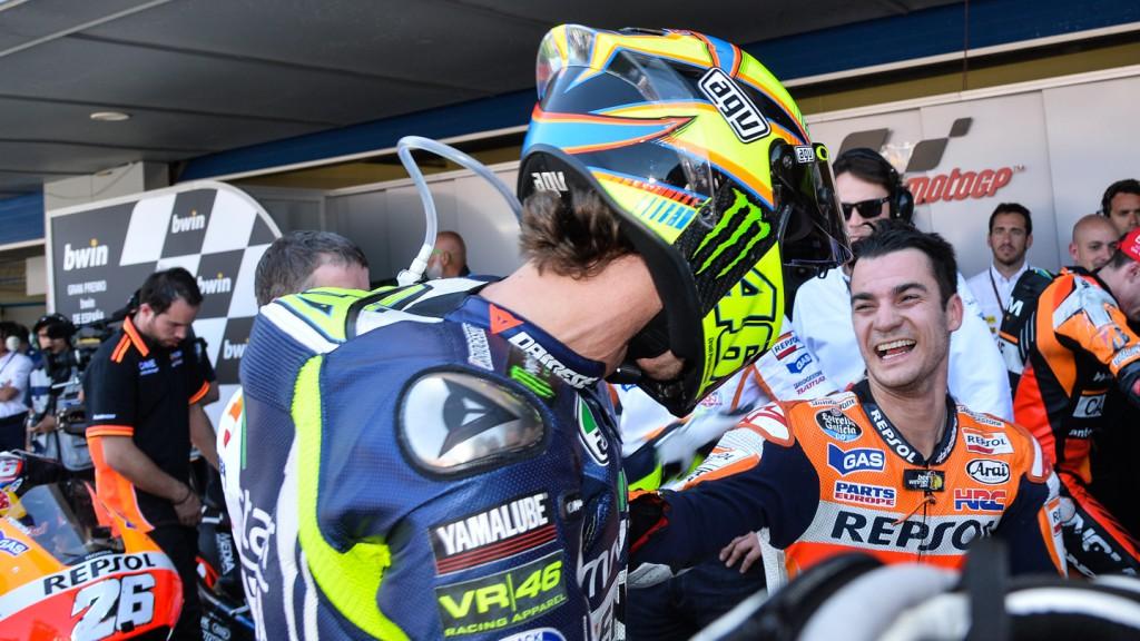 Rossi: Pedrosa si je zaslužil vsaj en naslov