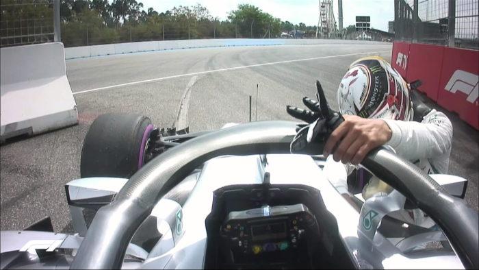 Rosberg: Hamiltonova telesna govorica zaskrbljujoča