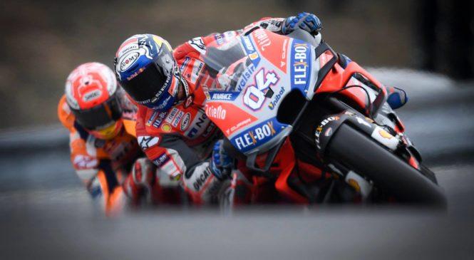 """Marquez raje ni poskušal z """"noro"""" potezo proti Ducatijema"""