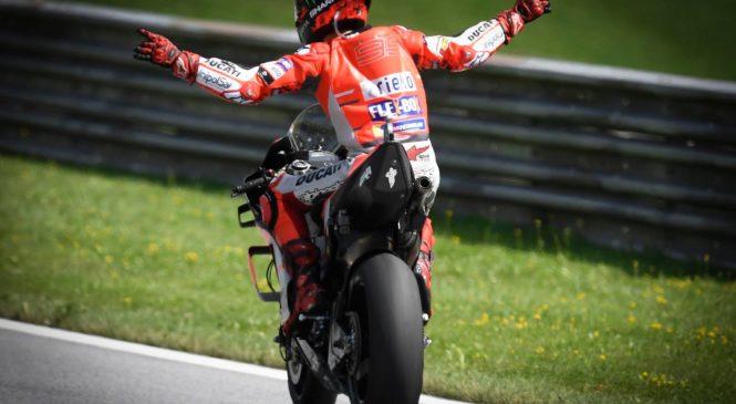 Lorenzo: Pred poškodbo sem bil najboljši dirkač