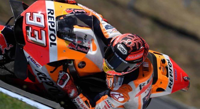 Marquez na testiranjih rešil težave z zadnjih dirk