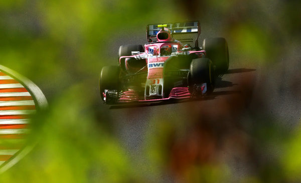 Force India v Belgiji kot novo moštvo Racing Point Force India