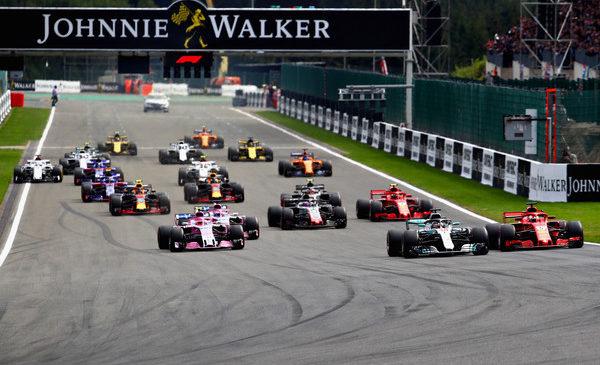 Vettel slavil v Spaju