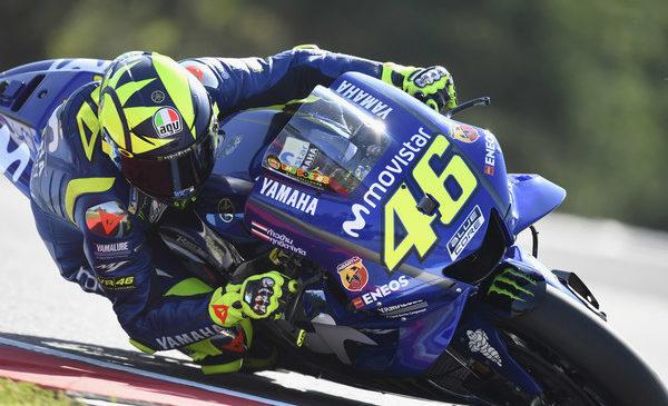 Rossi najhitrejši na tretjem treningu, Vinales v Q1