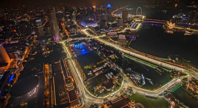 Ferrari v Singapur z agresivnim izborom pnevmatik