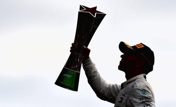 Lewis Hamilton do zmage v Monzi